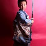 大阪の七五三写真撮影スタジオ・ハニーアンドクランチの男の子の和装のフォトギャラリーC146