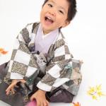 大阪の七五三写真撮影スタジオ・ハニーアンドクランチの男の子の和装のフォトギャラリーC151