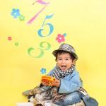 大阪の七五三写真撮影スタジオ・ハニーアンドクランチの男の子の和装のフォトギャラリーC152
