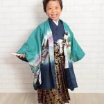 大阪の七五三写真撮影スタジオ・ハニーアンドクランチの男の子の和装のフォトギャラリーC154