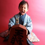 大阪の七五三写真撮影スタジオ・ハニーアンドクランチの男の子の和装のフォトギャラリーC156