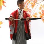 大阪の七五三写真撮影スタジオ・ハニーアンドクランチの男の子の和装のフォトギャラリーC158