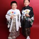 大阪の七五三写真撮影スタジオ・ハニーアンドクランチの男の子の和装のフォトギャラリーC161