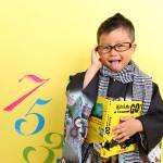 大阪の七五三写真撮影スタジオ・ハニーアンドクランチの男の子の和装のフォトギャラリーC162