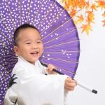 大阪の七五三写真撮影スタジオ・ハニーアンドクランチの男の子の和装のフォトギャラリーC163