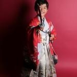 大阪の七五三写真撮影スタジオ・ハニーアンドクランチの男の子の和装のフォトギャラリーC164