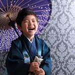 大阪の七五三写真撮影スタジオ・ハニーアンドクランチの男の子の和装のフォトギャラリーC165