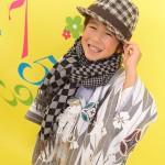 大阪の七五三写真撮影スタジオ・ハニーアンドクランチの男の子の和装のフォトギャラリーC167