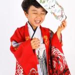 大阪の七五三写真撮影スタジオ・ハニーアンドクランチの男の子の和装のフォトギャラリーC168