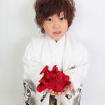 大阪の七五三写真撮影スタジオ・ハニーアンドクランチの男の子の和装のフォトギャラリーC176