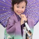 大阪の七五三写真撮影スタジオ・ハニーアンドクランチの男の子の和装のフォトギャラリーC177