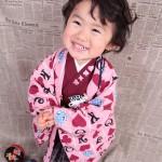 大阪の七五三写真撮影スタジオ・ハニーアンドクランチの男の子の和装のフォトギャラリーC178