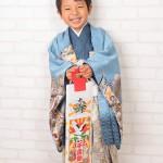 大阪の七五三写真撮影スタジオ・ハニーアンドクランチの男の子の和装のフォトギャラリーC180