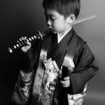 大阪の七五三写真撮影スタジオ・ハニーアンドクランチの男の子の和装のフォトギャラリーC181