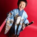 大阪の七五三写真撮影スタジオ・ハニーアンドクランチの男の子の和装のフォトギャラリーC182