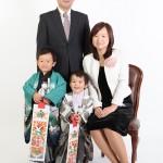 大阪の七五三写真撮影スタジオ・ハニーアンドクランチの男の子の和装のフォトギャラリーC183