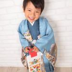 大阪の七五三写真撮影スタジオ・ハニーアンドクランチの男の子の和装のフォトギャラリーC184