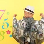大阪の七五三写真撮影スタジオ・ハニーアンドクランチの男の子の和装のフォトギャラリーC188