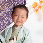 大阪の七五三写真撮影スタジオ・ハニーアンドクランチの男の子の和装のフォトギャラリーC191