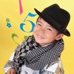大阪の七五三写真撮影スタジオ・ハニーアンドクランチの男の子の和装のフォトギャラリーC194