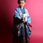 大阪の七五三写真撮影スタジオ・ハニーアンドクランチの男の子の和装のフォトギャラリーC195