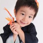 大阪の七五三写真撮影スタジオ・ハニーアンドクランチの男の子の和装のフォトギャラリーC196