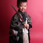 大阪の七五三写真撮影スタジオ・ハニーアンドクランチの男の子の和装のフォトギャラリーC197