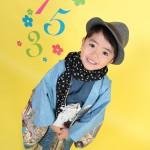 大阪の七五三写真撮影スタジオ・ハニーアンドクランチの男の子の和装のフォトギャラリーC198