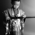 大阪の七五三写真撮影スタジオ・ハニーアンドクランチの男の子の和装のフォトギャラリーC200