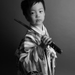 大阪の七五三写真撮影スタジオ・ハニーアンドクランチの男の子の和装のフォトギャラリーC201