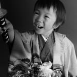 大阪の七五三写真撮影スタジオ・ハニーアンドクランチの男の子の和装のフォトギャラリーC203