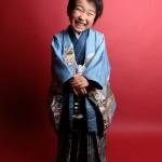 大阪の七五三写真撮影スタジオ・ハニーアンドクランチの男の子の和装のフォトギャラリーC204