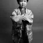 大阪の七五三写真撮影スタジオ・ハニーアンドクランチの男の子の和装のフォトギャラリーC206