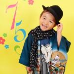 大阪の七五三写真撮影スタジオ・ハニーアンドクランチの男の子の和装のフォトギャラリーC207