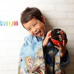 大阪の七五三写真撮影スタジオ・ハニーアンドクランチの男の子の和装のフォトギャラリーC208