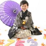 大阪の七五三写真撮影スタジオ・ハニーアンドクランチの男の子の和装のフォトギャラリーC212