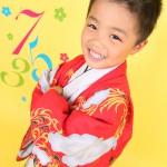 大阪の七五三写真撮影スタジオ・ハニーアンドクランチの男の子の和装のフォトギャラリーC213