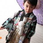 大阪の七五三写真撮影スタジオ・ハニーアンドクランチの男の子の和装のフォトギャラリーC215