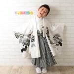 大阪の七五三写真撮影スタジオ・ハニーアンドクランチの男の子の和装のフォトギャラリーC217