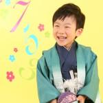 大阪の七五三写真撮影スタジオ・ハニーアンドクランチの男の子の和装のフォトギャラリーC218