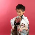 大阪の七五三写真撮影スタジオ・ハニーアンドクランチの男の子の和装のフォトギャラリーC219