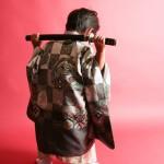 大阪の七五三写真撮影スタジオ・ハニーアンドクランチの男の子の和装のフォトギャラリーC220