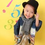 大阪の七五三写真撮影スタジオ・ハニーアンドクランチの男の子の和装のフォトギャラリーC221