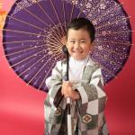 大阪の七五三写真撮影スタジオ・ハニーアンドクランチの男の子の和装のフォトギャラリーC222