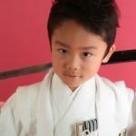 大阪の七五三写真撮影スタジオ・ハニーアンドクランチの男の子の和装のフォトギャラリーC224