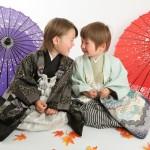 大阪の七五三写真撮影スタジオ・ハニーアンドクランチの男の子の和装のフォトギャラリーC226
