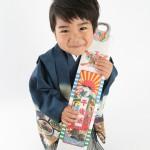 大阪の七五三写真撮影スタジオ・ハニーアンドクランチの男の子の和装のフォトギャラリーC227