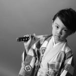 大阪の七五三写真撮影スタジオ・ハニーアンドクランチの男の子の和装のフォトギャラリーC228
