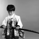 大阪の七五三写真撮影スタジオ・ハニーアンドクランチの男の子の和装のフォトギャラリーC230
