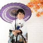 大阪の七五三写真撮影スタジオ・ハニーアンドクランチの男の子の和装のフォトギャラリーC231